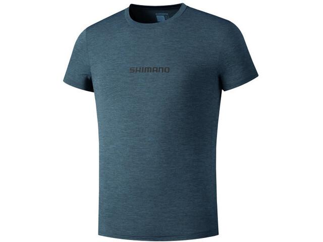 Shimano Yara Tech T-Shirt Herren blue